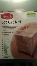 Cot cat net cover