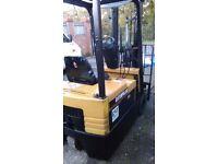 URGENT bargain !!! CATERPILLAR EP15T electric forklift - 2450 pounds