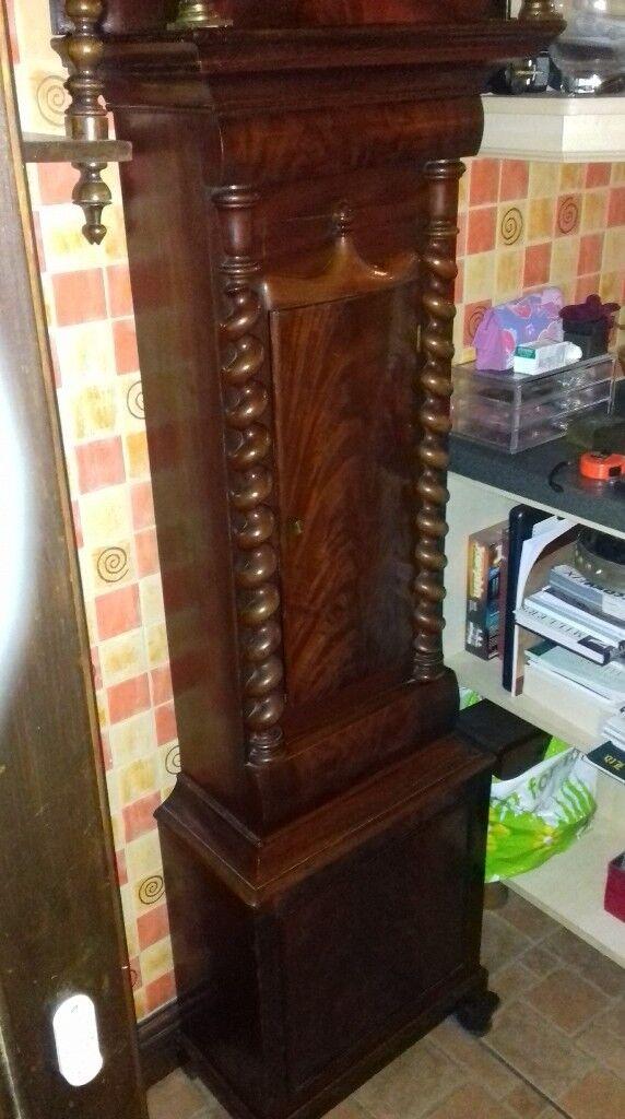 1800 scottish grandfather clock