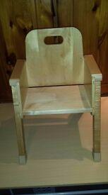 Toddler Wooden Chair
