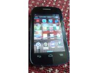 ALCATEL ONE TOUCH MINT PHONE BLUE AND UNLOCK TO ALL NETWORK