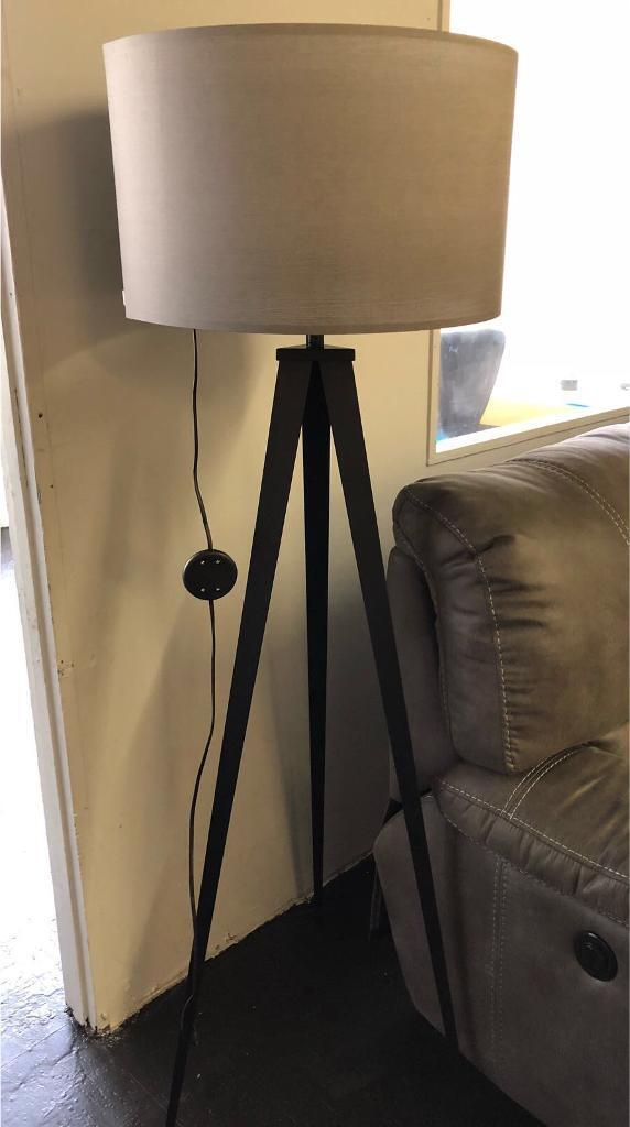 Zuiver Black and Grey Floor Lamp