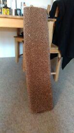 Brown carpet 80 x 90 cm