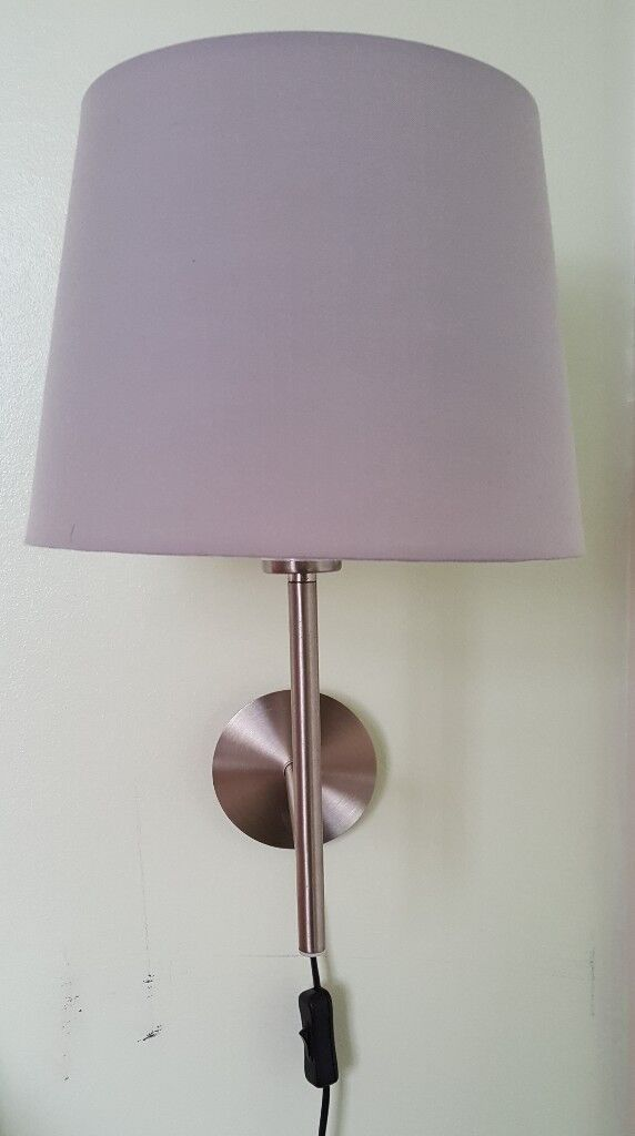 Wall lamps with shades