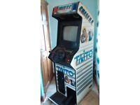Chase h.q retro arcade machine.