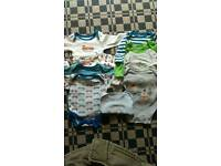 Bundle of new born vests