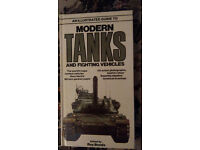 Illustrated guide to Modern Tanks and fighting vehicles by Salamander books edited by Ray Brooks