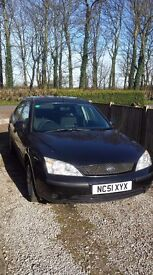Ford Mondeo 1.8LX - 115500 Miles - 10 Month MOT - Just Serviced - Black