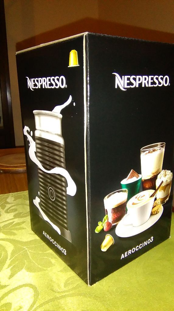 Nespresso Aeroccino 3 milk frother brand new in box | in Bangor ...
