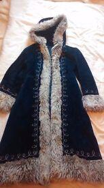 Still for sale:GORGEOUS hippy bohemian style warm winter coat 10/12