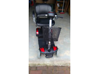 As new but used, TGA Eclipse Scooter. Dismantles into 4 pieces for easy transportation. .