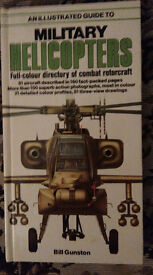 Illustrated guide to Military Helicopters Salamander books edited by Bill Gunston.