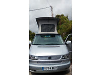 VW 2001 T5 California Eurovan Great Cond Bi-fuel Petrol LPG Low Profile pop top 7 seater 4 berth