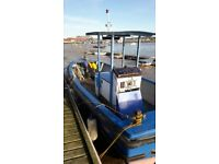 Fishing boat/launch with freehold mooring