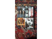 Various NIRVANA DVDS RARE and LIVE CD