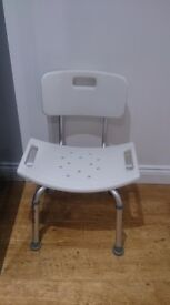 Height Adjustable Shower Chair Mobility Aid BRAND NEW