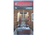 CANMAC DONER KEBAB MACHINE 3 BURNER, BRAND NEW Shawarma