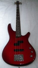 Bass Guitar SDGR SR 300 DX by Ibanez candy apple Red