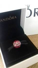 Genuine Pandora birthday charm