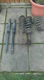 Toyota yaris front and rear shockers and springs