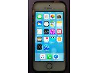 Apple iPhone iPhone 5s - 16GB - Golden (EE) Smartphone -Excellent condition