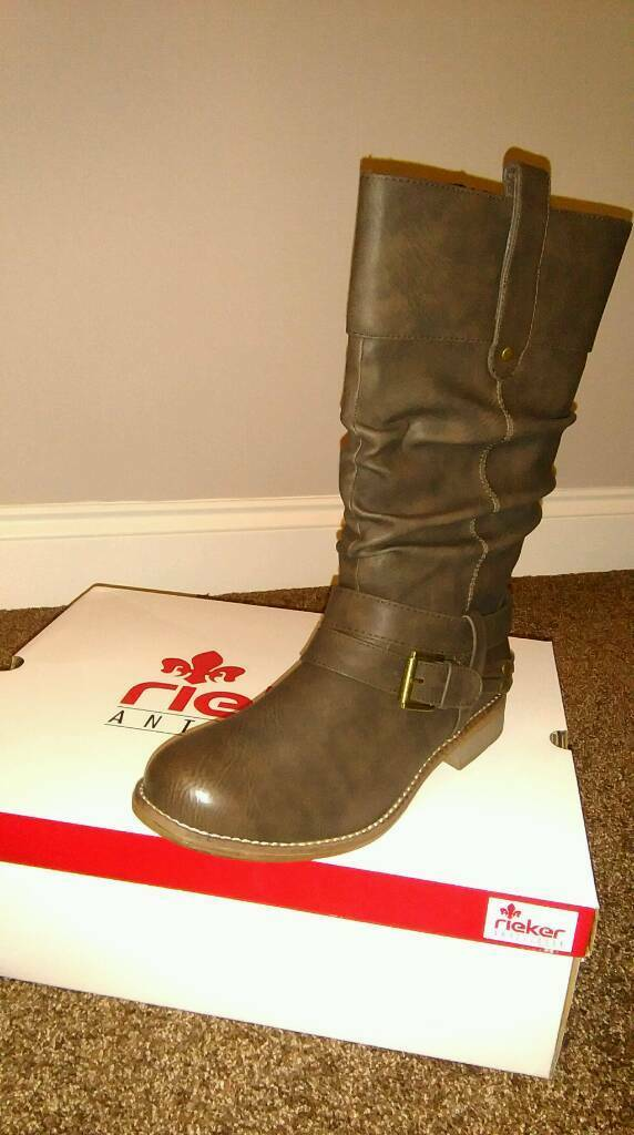 Rieker ladies boots, size 6