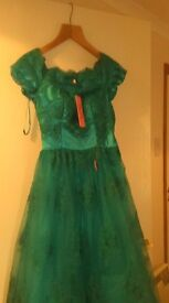 £60-£80 Teal Party Dress: never worn Chi Chi London