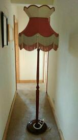 Wooden Lamp Stand and Shade MUST. GO