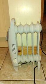 Argos small oil filled radiator 450 watt