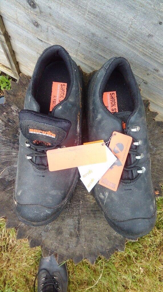 Scruffs Quake Hardwear Steel-Toe Safety Shoes Size 10