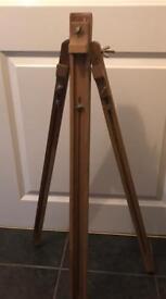Vintage wooden art easel
