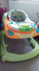 Baby Walker - musical DJ sounds