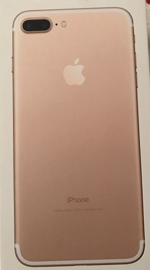 iPhone 7 Plus 128GB in goldin Beith, North AyrshireGumtree - I am selling my iPhone 128GB in good condition only 2 months old. It is a 7 plus so quite big. Its not on contract so should be unlocked. We have only ever used it with different O2 SIM cards in so should you want to test it with another network your...