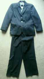 Boys Pinstripe suit age 6 years