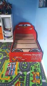 Lightning McQueen Toddlers bed
