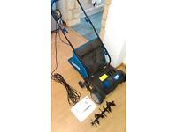 MAC ALLISTER MRS 1400 Electric Lawn Scarifier and raker