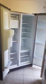 Samsung American fridge freezer.,,,.Mint free delivery