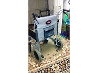 """ENIGMA Drive medical wheelchair ultra lightweight, LAWC012 model ,20"""" wide seat base vgc"""