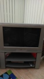 JVC Widescreen 29 inch TV with TV stand