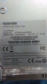 LAPTOP Toshiba Portege Z830-104 without SSD.