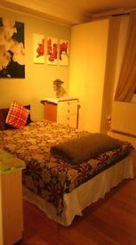 Double room available in a three bedroom flat