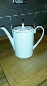 Wedgwood coffee pot Vera Wang