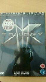 X men trilogy (brand new still sealed)