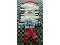 Bundle of new born size clothes