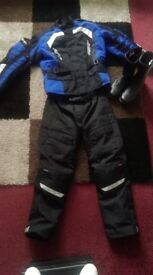 RST MotorBike Outfit and Boots