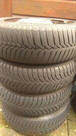 175/65/14 winter tyres-hyundai i10