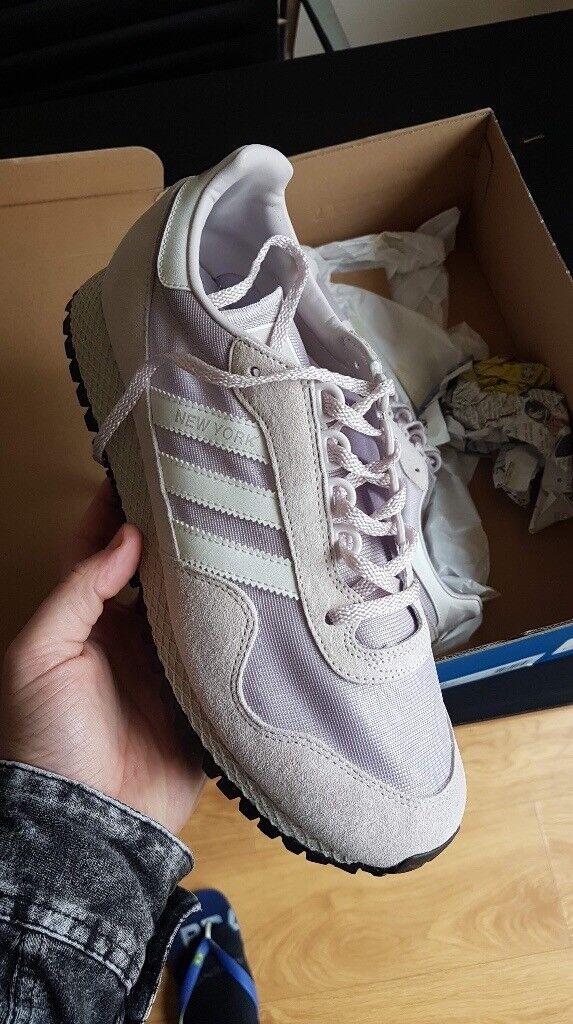 Adidas New York Trainers Uk 9 5 In Box Retail Price 75