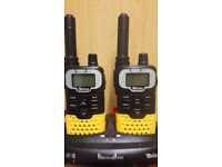 tevion action 850 long range walkie talkies