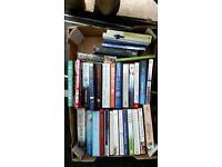 Books job lot over 10 boxes