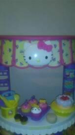 Hello Kitty play kitchen.
